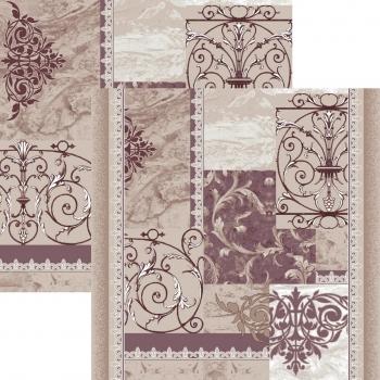 Ковровая дорожка p1582a5p - 93 - коллекция принт 8-ми цветное полотно