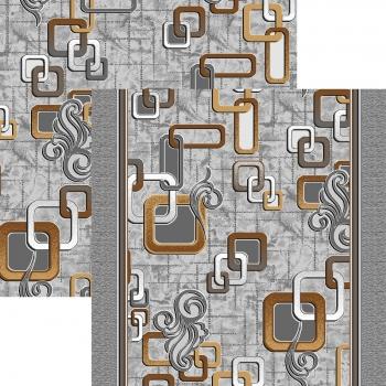 Ковровая дорожка p1594c2p - 54 - коллекция принт 8-ми цветное полотно