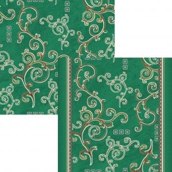 Ковровая дорожка p1612a5p - 36 - коллекция принт 8-ми цветное полотно