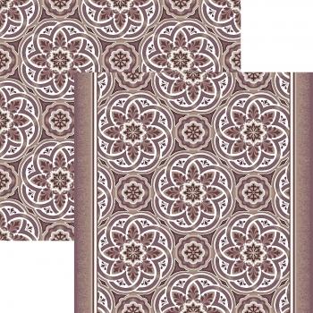 Ковер p1507a6p - 93 - Прямоугольник - коллекция принт обр 8-ми цветное полотно