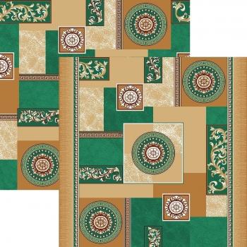 Ковер p1518a2p - 36 - Прямоугольник - коллекция принт обр 8-ми цветное полотно