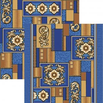 Ковер p1519a5p - 37 - Прямоугольник - коллекция принт обр 8-ми цветное полотно