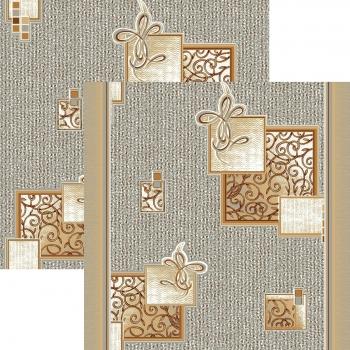 Ковер p1548a5p - 34 - Прямоугольник - коллекция принт обр 8-ми цветное полотно