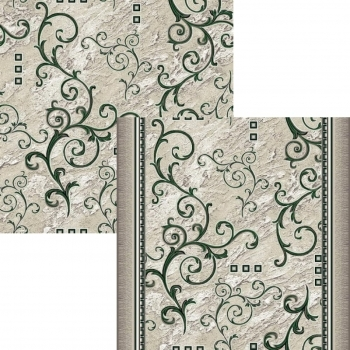 Ковер p1612a2p - 206 - Прямоугольник - коллекция принт обр 8-ми цветное полотно