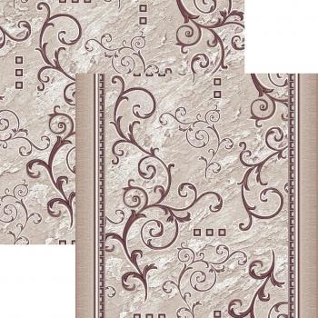 Ковер p1612a5p - 93 - Прямоугольник - коллекция принт обр 8-ми цветное полотно