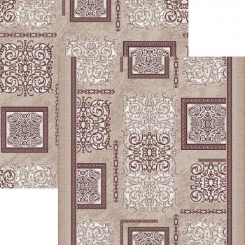 Ковер p1614c5p - 93 - Прямоугольник - коллекция принт обр 8-ми цветное полотно