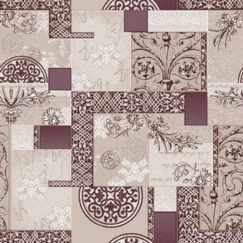 Ковер p1747b2p - 93 - Прямоугольник - коллекция принт обр 8-ми цветное полотно
