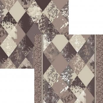 Ковер p1790a2p - 100 - Прямоугольник - коллекция принт обр 8-ми цветное полотно