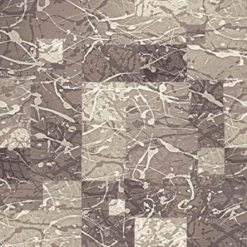 Ковер p2024a6p - 100 - Прямоугольник - коллекция принт обр 8-ми цветное полотно