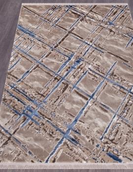 Ковер O0272 - 030 BLUE - Прямоугольник - коллекция REGINA