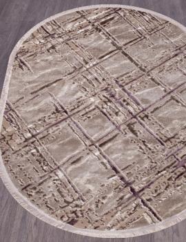 Ковер O0272 - 050 PURPLE - Овал - коллекция REGINA