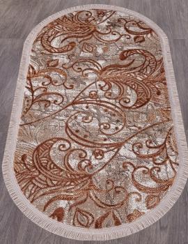 Ковер O0273 - 020 ROSE - Овал - коллекция REGINA