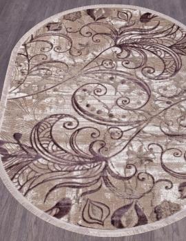 Ковер O0273 - 050 PURPLE - Овал - коллекция REGINA