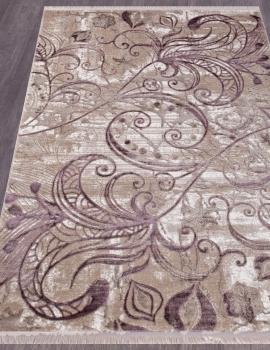 Ковер O0273 - 050 PURPLE - Прямоугольник - коллекция REGINA