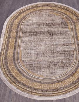 Ковер O0274 - 075 GOLD - Овал - коллекция REGINA
