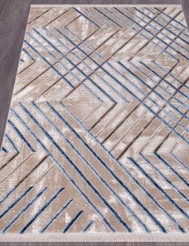 Ковер O0275 - 030 BLUE - Прямоугольник - коллекция REGINA