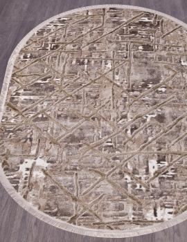 Ковер O0280 - 040 GREEN - Овал - коллекция REGINA