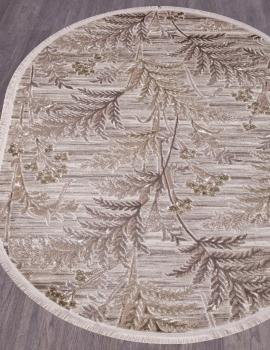 Ковер O0284 - 040 GREEN - Овал - коллекция REGINA