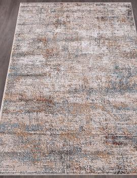 Ковер D867 - CREAM-BLUE - Прямоугольник - коллекция RICHMOND