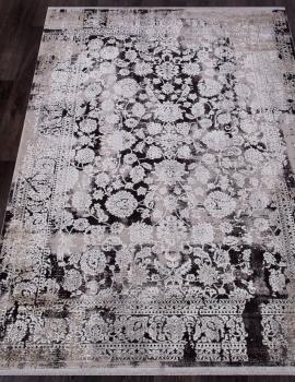 Ковер 17102 - L.GREY / D.GREY - Прямоугольник - коллекция ROXANNE