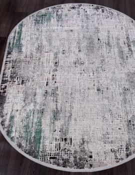 Ковер 17132 - L.GREY / D.GREY - Овал - коллекция ROXANNE