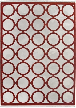 Ковер 08421R - RED / RED - Прямоугольник - коллекция SARDES TRUVA