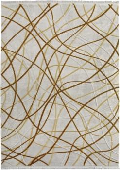 Ковер 08425Y - GOLD / GOLD - Прямоугольник - коллекция SARDES TRUVA