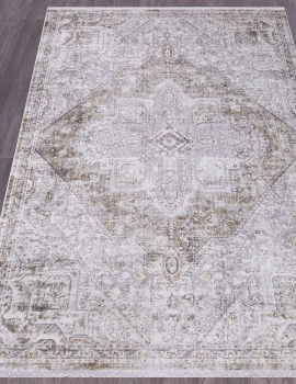 Ковер 03884A - ACIK GRI / ORTA GRI - Прямоугольник - коллекция SEATTLE