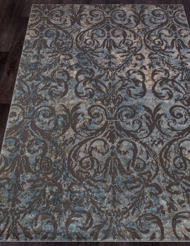 Ковер D778 - BLUE - Прямоугольник - коллекция SERENITY