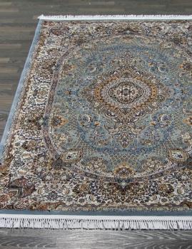 Ковер d414 - BLUE - Прямоугольник - коллекция SHAHREZA