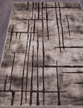 Ковер D717 - BEIGE-BROWN 2 - Прямоугольник - коллекция SIERRA