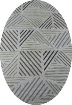 Ковер 16262 - 040 - Овал - коллекция SIGMA