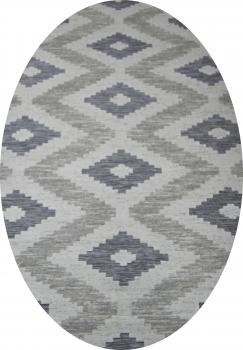 Ковер 16263 - 095 - Овал - коллекция SIGMA
