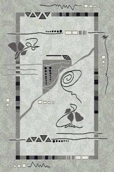 Ковер 5305 - GRAY - Прямоугольник - коллекция SILVER