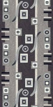 Ковровая дорожка d043 - GRAY - коллекция SILVER