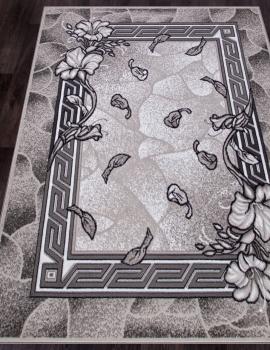Ковер D201 - GRAY 2 - Прямоугольник - коллекция SILVER