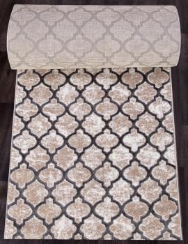 Ковровая дорожка D5180 - 097 GREY - коллекция STYLE