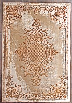 Ковер Q5521 - 075 GOLD - Прямоугольник - коллекция STYLE