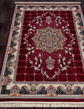 Ковер 7586 - RED - Прямоугольник - коллекция TEHRAN