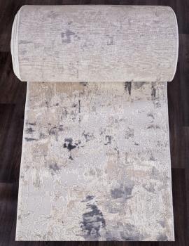 Ковровая дорожка 15456A - BEIGE / GREY - коллекция TOKIO
