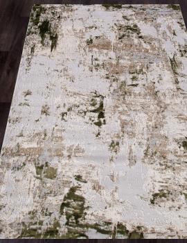 Ковер 15456A - CREAM / L.GREEN - Прямоугольник - коллекция TOKIO