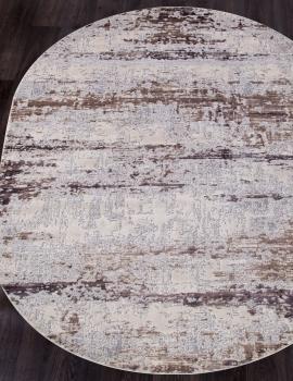Ковер 15463A - BEIGE / PINK - Овал - коллекция TOKIO