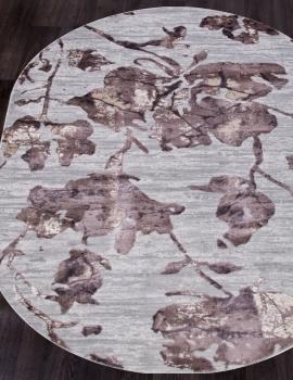 Ковер 17974A - GREY / PINK - Овал - коллекция TOKIO