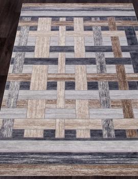Ковер 17975A - L.BEIGE / GREY - Прямоугольник - коллекция TOKIO