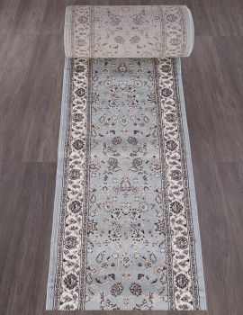 Ковровая дорожка d251 - L.BLUE-BROWN - коллекция VALENCIA DELUXE