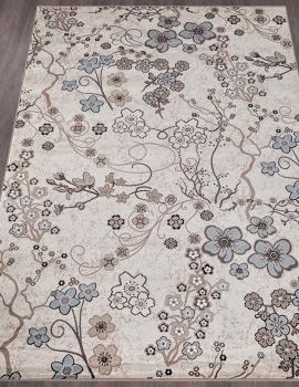 Ковер d332 - CREAM-BROWN - Прямоугольник - коллекция VALENCIA DELUXE