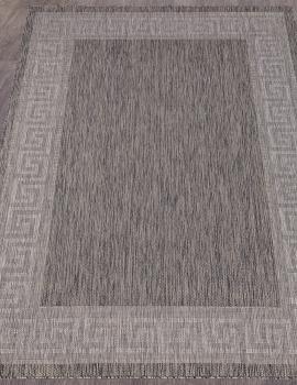 Ковер S002 - DARK GRAY - Прямоугольник - коллекция VEGAS
