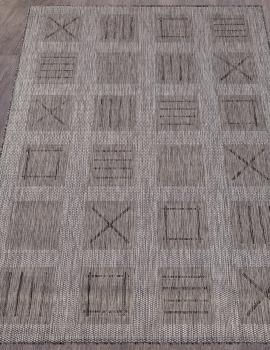 Ковер S003 - GRAY - Прямоугольник - коллекция VEGAS