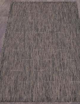 Ковер S008 - DARK GRAY - Прямоугольник - коллекция VEGAS