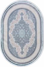 Ковер 0T249RG - BLUE / BLUE - Овал - коллекция ALFANI - фото 2